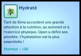 Sims 3 Université Végésims hydraté