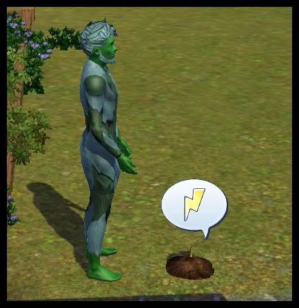 Sims 3 Université Végésims discuter avec les plantes
