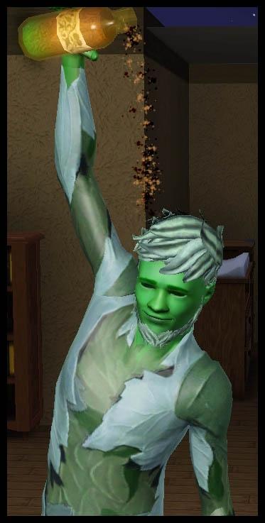 Sims 3 Université Végésims potion super épice