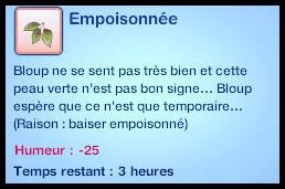 Sims 3 Université Végésims empoisonné