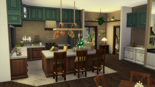 Sims 4 deco colonial - Interieur style colonial ...