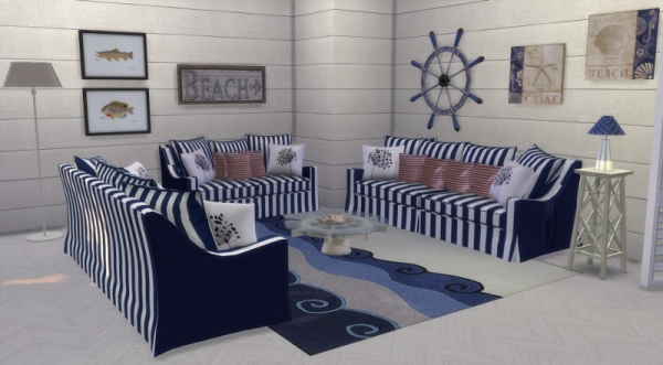 deco marine custom content cc sims 4 seaside. Black Bedroom Furniture Sets. Home Design Ideas