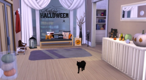Sims 4 deco halloween cc for Deco appartement sims 4