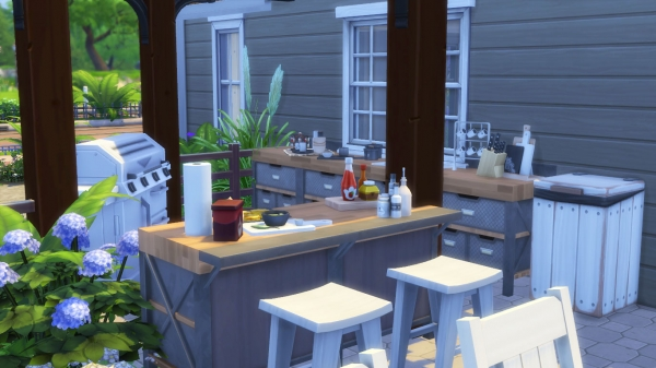 Sims 4 deco am nagement ext rieur outdoor for Idee deco exterieur