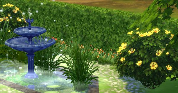Jardin anglais id e d coration custom content cc sims 4 for Plan jardin anglais