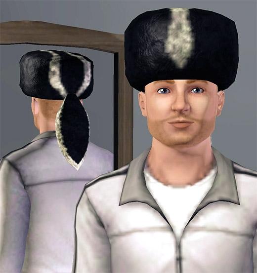 Sims 3 Cinéma coiffure chapeau