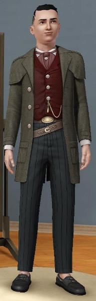 Sims 3 Cinéma Far Ouest Cowboy