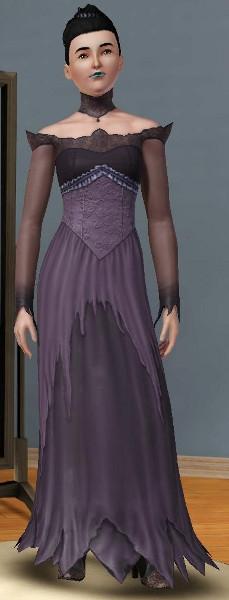 Sims 3 Cinéma gothique