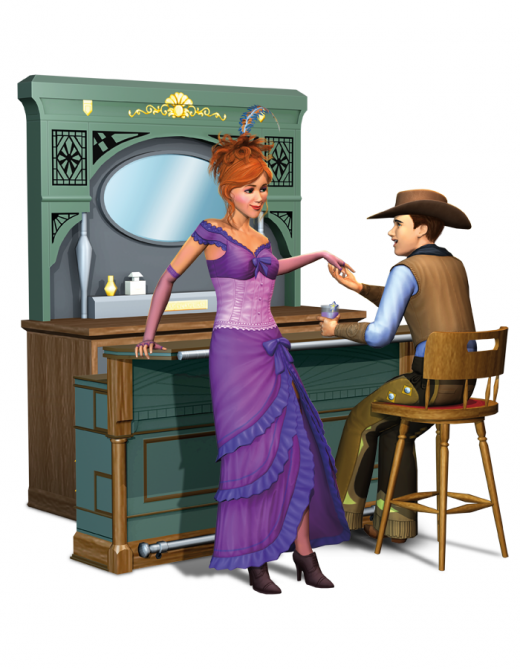 Sims 3 Cinéma objets