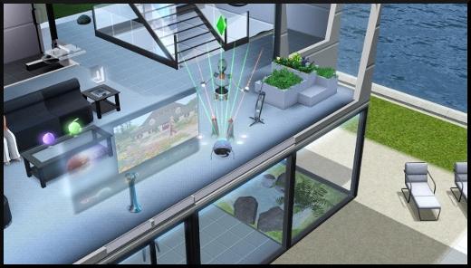 6 sims 3 fan day add on en route vers le futur nouveaux objets futuristes Rythmolaser