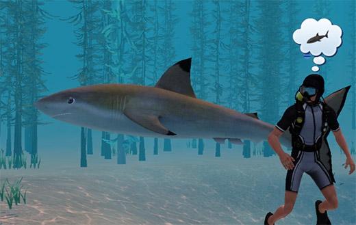 Sims 3 Île de rêve requins