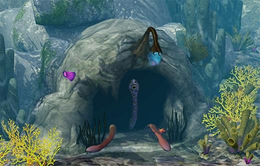 Sims 3 Île de rêve grotte monstre