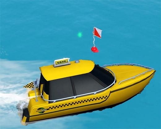 Sims 3 Île de rêve taxi bateau
