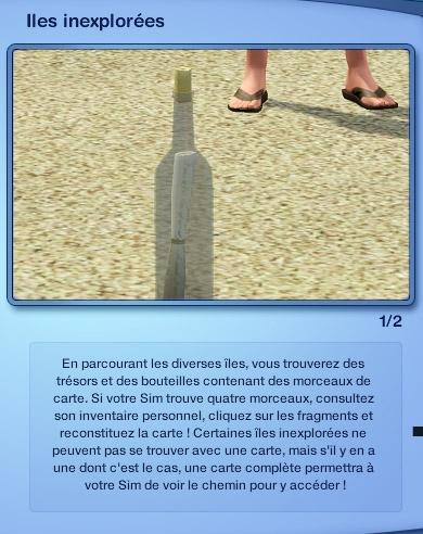 Sims 3 Île de rêve îles inexplorées