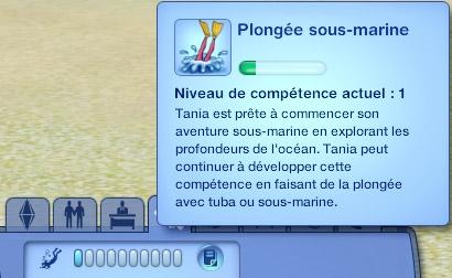 Sims 3 Île de rêve plongée sous-marine