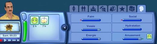 Sims 3 Île de rêve sirène besoins