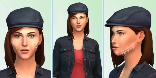 Les Sims 4 - CAS - visage