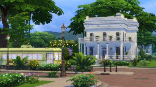 Sims 4 - Quartier - Monde - Tramway
