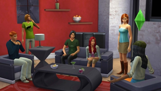 Sims 4 - conversations de groupe - multitasking