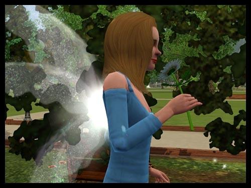 3  sims 3 interview fee super pouvoir respire fleur