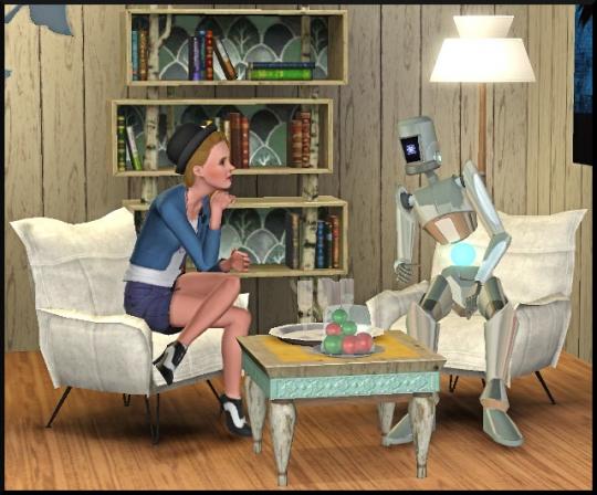 3 sims 3 en route vers le futur interview plumbot bloup parle