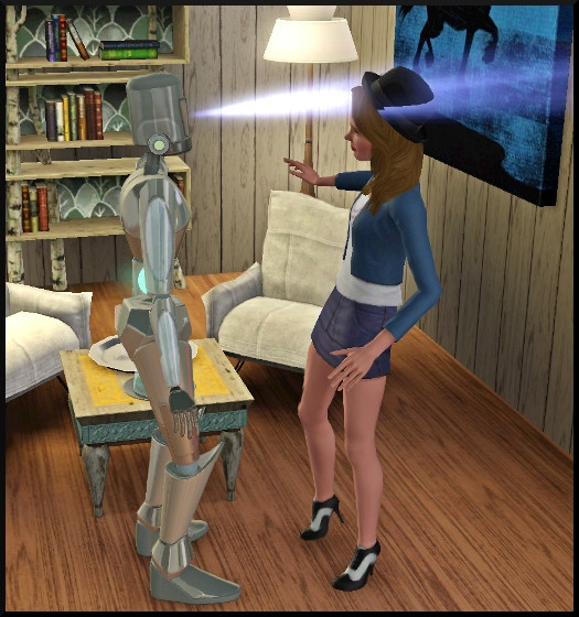 5 sims 3 en route vers le futur interview plumbot scanne bloup
