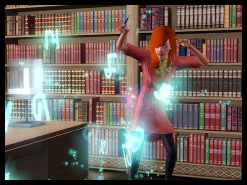 5 sims 3 interview sorciere super pouvoir magie baguette