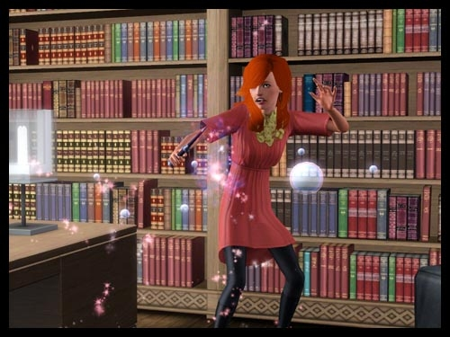 9 sims 3 interview sorciere super pouvoir magie baguette