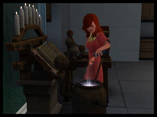 10 sims 3 interview sorciere super pouvoir station alchimie