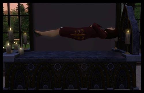 3  sims 3 interview vampire acces vip super pouvoir vampire dort cercueil levitation