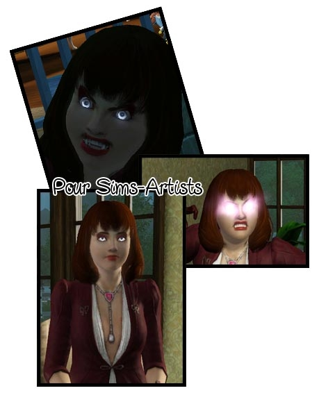 7  sims 3 interview vampire acces vip super pouvoir shooting