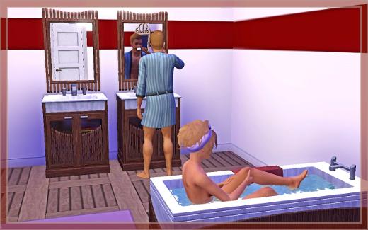 Sims 3 Suites de luxe salle de bain