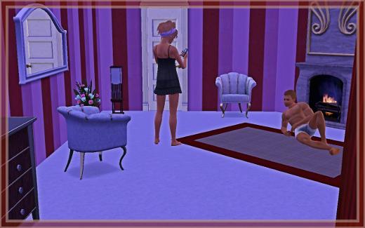 Sims 3 Suites de luxe chambre séduction