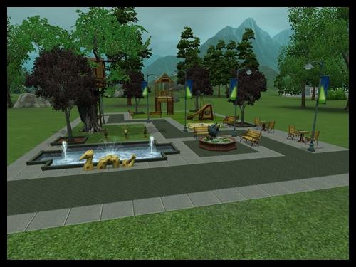 vie citadine parc enfants