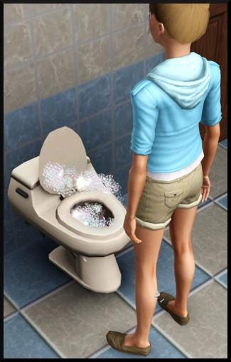 16 sims 3 competence bricolage wc nettoie seul automatique