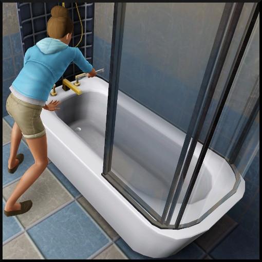 25 sims 3 competence bricolage baignoire