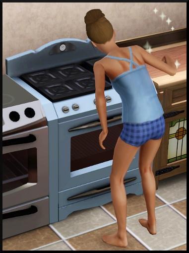 28 sims 3 competence bricolage cuisinière