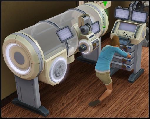 54 sims 3 competence bricolage station recherche scientifique