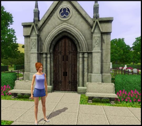 2 sims 3 carriere mi temps employe mausolee poupouss devant