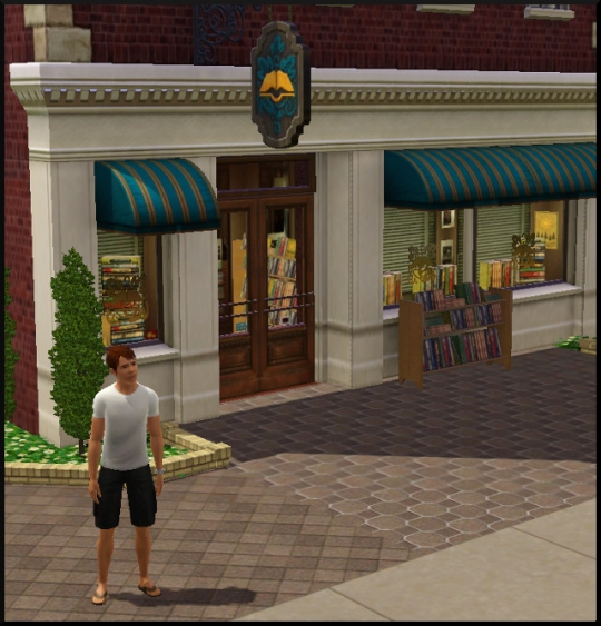 16 sims 3 carriere mi temps employe librairie val devant