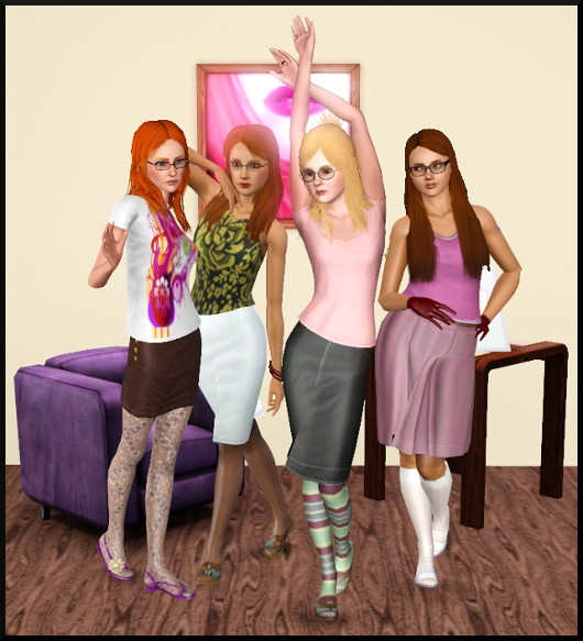 1 sims 3 create a sims vetement coiffure femme