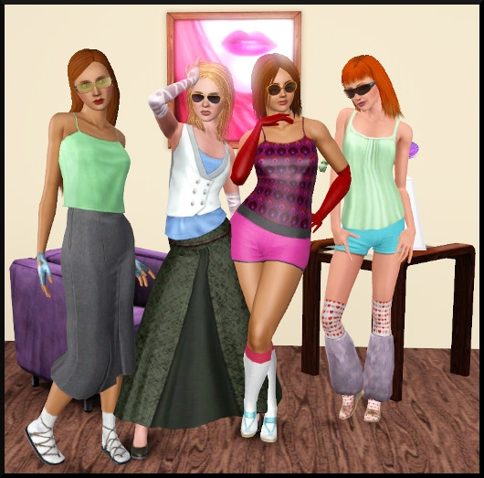 2 sims 3 create a sims vetement coiffure femme