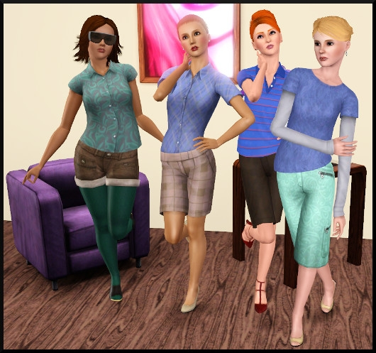 3 sims 3 create a sims vetement coiffure femme