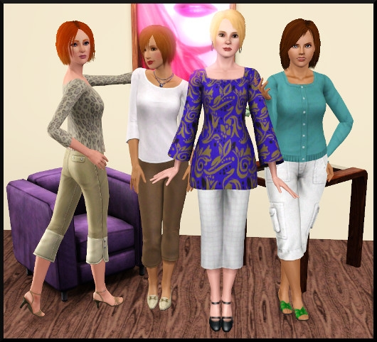4 sims 3 create a sims vetement coiffure femme