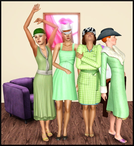 10 sims 3 create a sims vetement coiffure femme