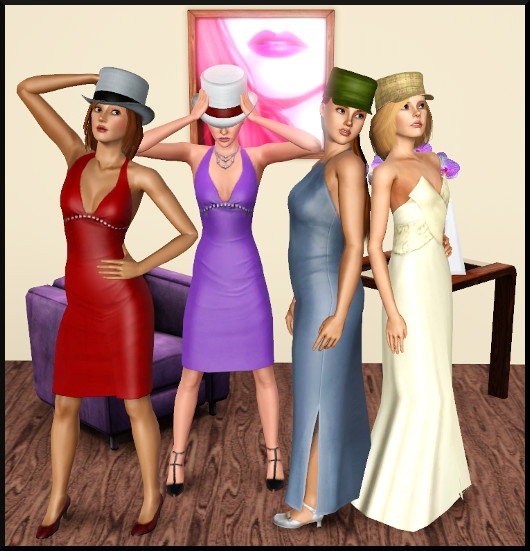 12 sims 3 create a sims vetement coiffure femme