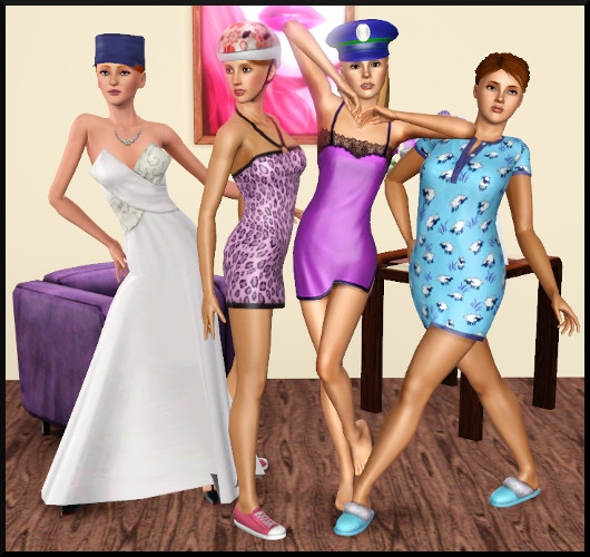 13 sims 3 create a sims vetement coiffure femme