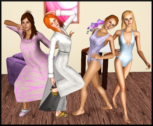14 sims 3 create a sims vetement coiffure femme