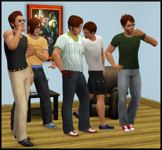 17 sims 3 create a sims vetement coiffure homme