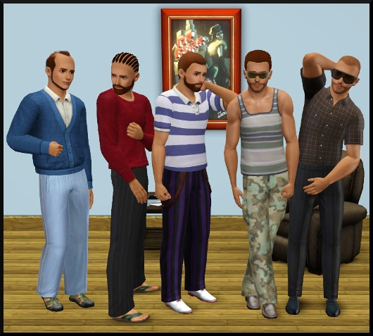 18 sims 3 create a sims vetement coiffure homme
